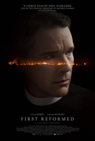 First Reformed - Theatrical release poster