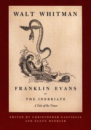 Franklin Evans - Title page, Reprint edition