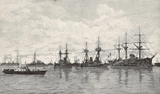 The French squadron at Kronstadt