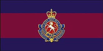 The Governor General's Horse Guards - The camp flag of The Governor General's Horse Guards.