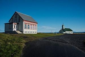 Garður - Image: Gardur iceland hiticeland