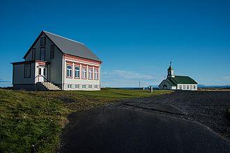 Garður - The Church Útskálar at Garður