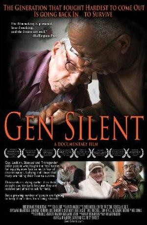 Gen Silent - Image: Gen Silent