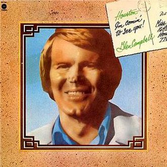 Houston (I'm Comin' to See You) - Image: Glen Campbell Houston album cover