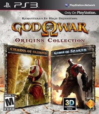 God of War video game collections - Image: God of War Origins Collection box art