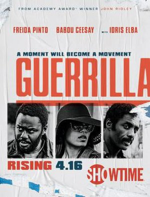 Guerrilla (2017 miniseries) - Showtime poster for Guerrilla
