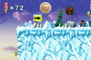 Gumby - Screenshot of the video game, Gumby vs. the Astrobots