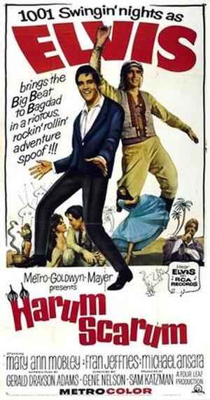 Harum Scarum (film) - Image: Harumscarum