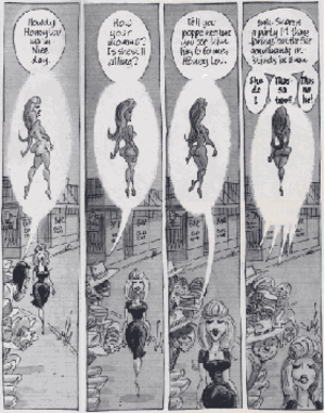 Harvey Kurtzman's Jungle Book - Panels that inspired Art Spiegelman in the way Kurtzman experimented with formalities such as the portrayal of motion
