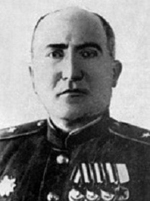 338th Rifle Division (Soviet Union) - Maj. Gen. H.G. Babayan, Hero of the Soviet Union