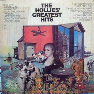The Hollies' Greatest Hits (1973 album) - Image: Hollies Greatest Hits 1973 cover