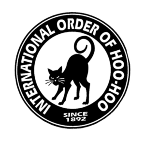 Concatenated Order of Hoo-Hoo - Logo of the Concatenated Order of Hoo-Hoo, featuring the black cat with its tail curled in a figure nine.