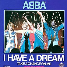 ABBA — I Have a Dream (studio acapella)
