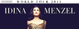 Idina Menzel: World Tour - Image: Idina World Tour