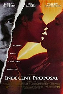 <i>Indecent Proposal</i> 1993 film by Adrian Lyne