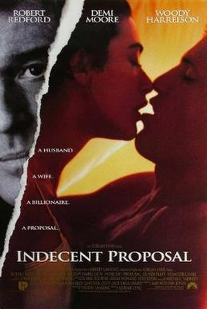 Indecent Proposal - Theatrical release poster