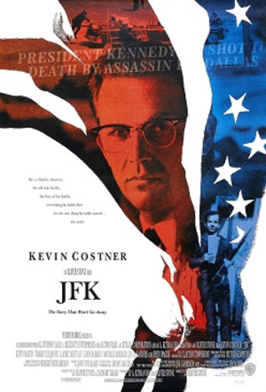 JFK (film) - Theatrical release poster