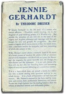 <i>Jennie Gerhardt</i> novel by Theodore Dreiser