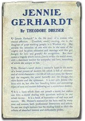 Jennie Gerhardt - First edition cover