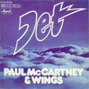 Jet (song) - Image: Jet Paul Mc Cartney & Wings