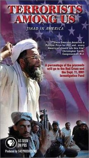 Terrorists Among Us: Jihad in America - VHS cover art