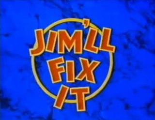 <i>Jimll Fix It</i> British television show