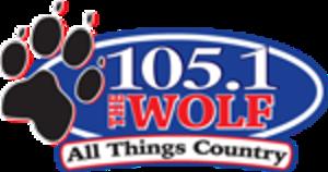 KMJX - Image: KMJX 105.1The Wolf logo