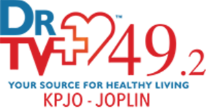 KPJO-LP - KPJO-LD2 logo from its DrTV affiliation years in 2014-2015.