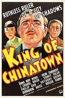 <i>King of Chinatown</i> 1939 American film