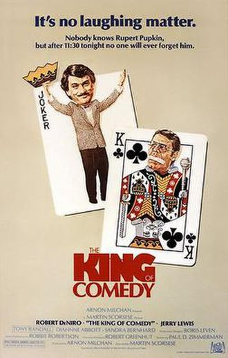 The King of Comedy (film) - Theatrical release poster