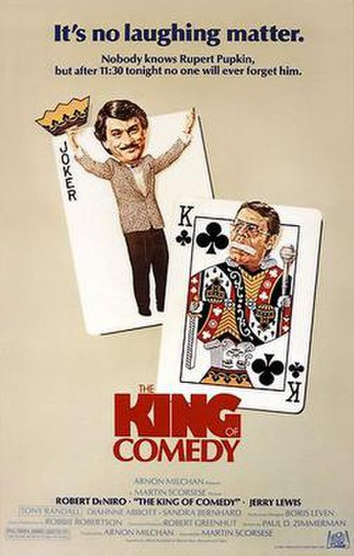 Picture of a movie: The King Of Comedy