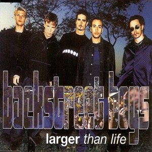 Larger than Life (song) - Image: Larger than Life BSB single cover