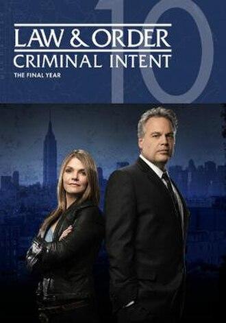 Law & Order: Criminal Intent (season 10) - Season 10 U.S. DVD cover