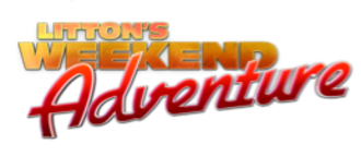 Litton's Weekend Adventure - Original logo, used from September 3, 2011 to September 28, 2013.
