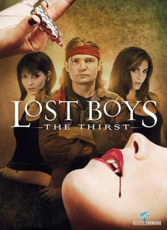Lost Boys: The Thirst - DVD cover