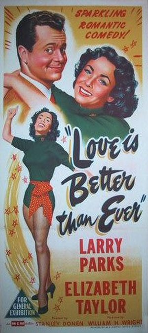 Love Is Better Than Ever - Theatrical release poster