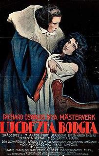 <i>Lucrezia Borgia</i> (1922 film) 1922 film