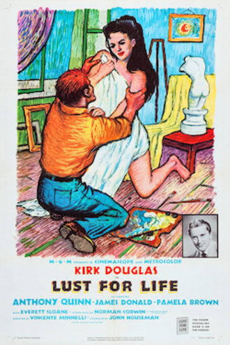 Lust for Life (film) - Theatrical release poster