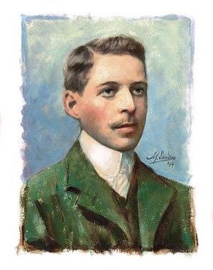 Emmerich Kálmán - Young Kálmán, by Mart Sander