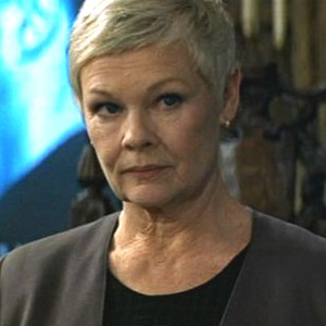 M (James Bond) - Judi Dench, who played M from 1995 to 2015