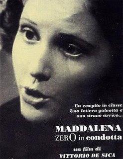 <i>Maddalena, Zero for Conduct</i> 1940 film by Vittorio De Sica