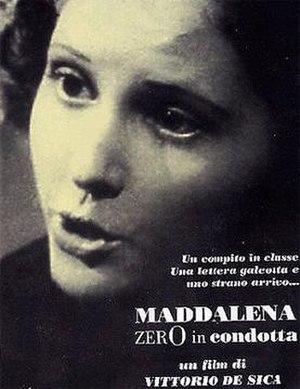 Maddalena, Zero for Conduct - Film poster
