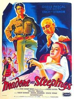 <i>Madonna of the Sleeping Cars</i> (1955 film) 1955 film by Henri Diamant-Berger