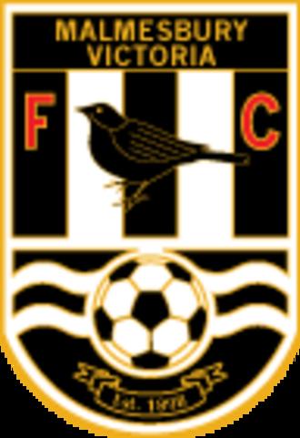 Malmesbury Victoria F.C. - Image: Malmesbury Victoria F.C. logo