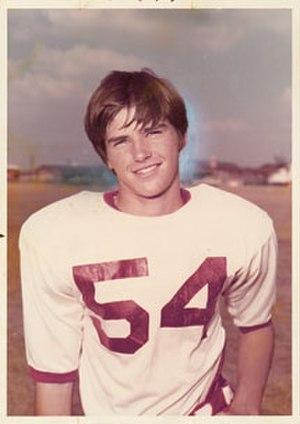 John McClamrock - McClamrock as a high school American football player
