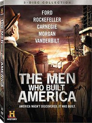 The Men Who Built America - Region 1 DVD cover