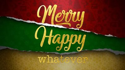 Picture of a TV show: Merry Happy Whatever