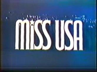 Miss USA 1984 - Image: Miss USA 1984 opening titles