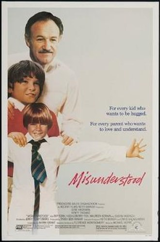 Misunderstood (1984 film) - Theatrical release poster