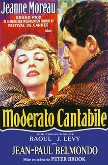 Margarit Diras ( Marguerite Duras ) - Page 3 220px-Moderato_Cantabile_AKA_Seven_Days..._Seven_Nights_%28Movie_Poster%29